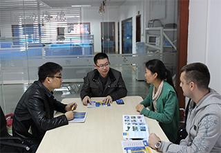 客户专案讨论会议
