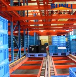 重力自滑式货架厂