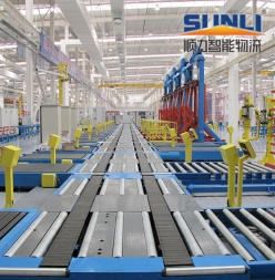 自动化分拣系统生产线