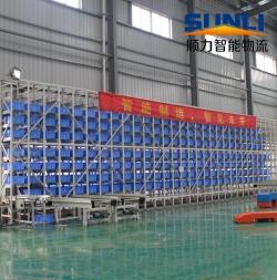 Automated warehouse rack